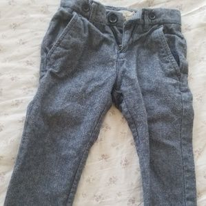 Linen jean blend pants
